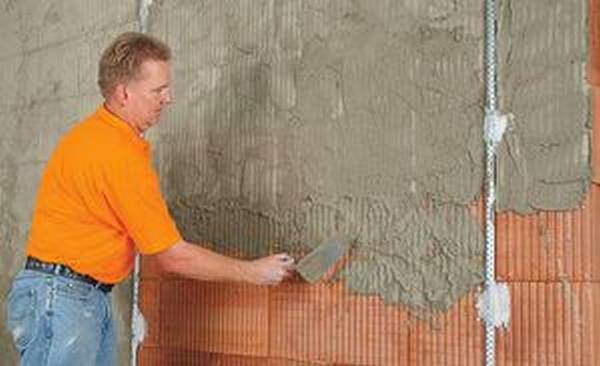Штукатурка стен своими руками при температуре
