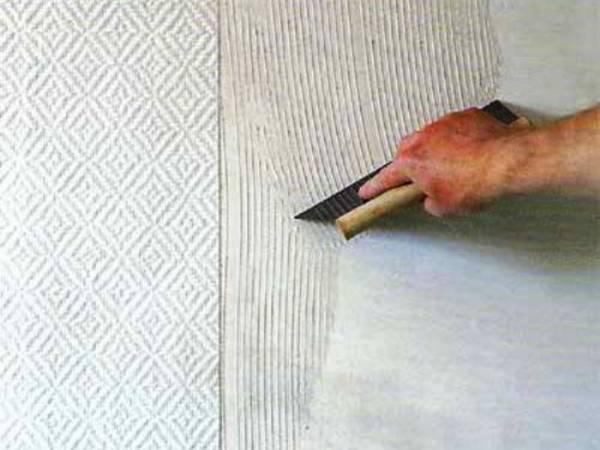 Как поклеить стеклообои на потолок