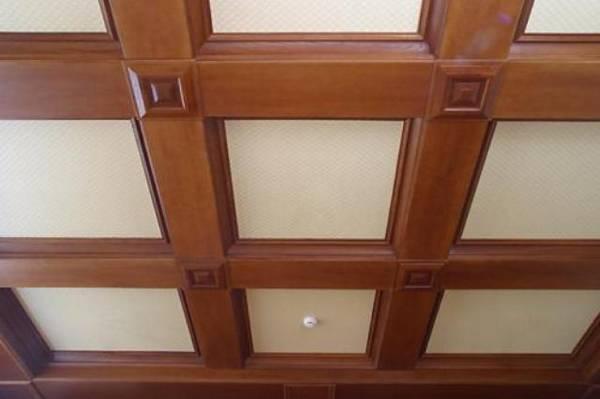 Как сделать подвесной потолок из мдф