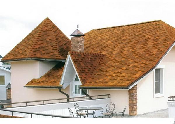 Крыша под битумную черепицу