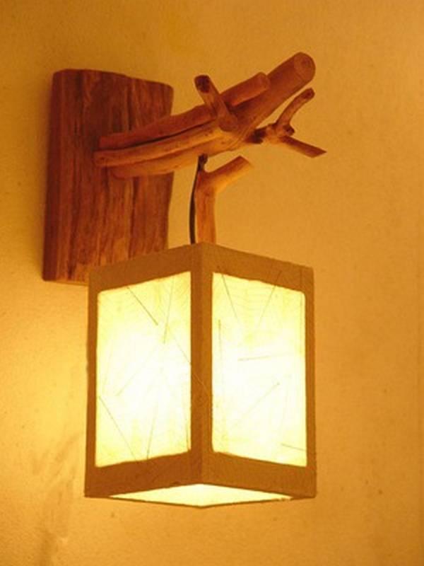 Как сделать настенный светильник бра своими руками 78