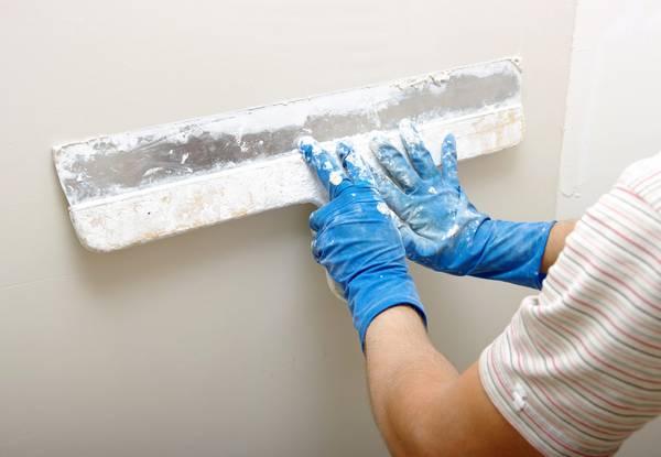 Штукатурка и шпаклевка стен своими руками технология 45