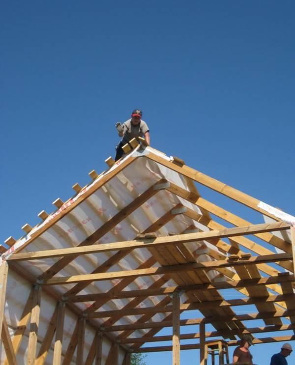Как сделать мансарду на крыше фото